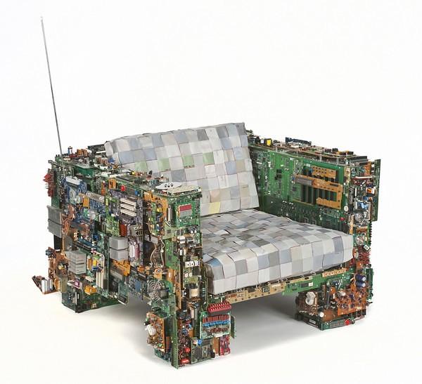 Increibles muebles hechos con material reciclado Diario Ecologia