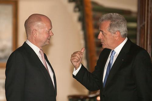 Με τον Βρετανό ΥΠΕΞ William Hague, Λονδίνο (5/6/13)
