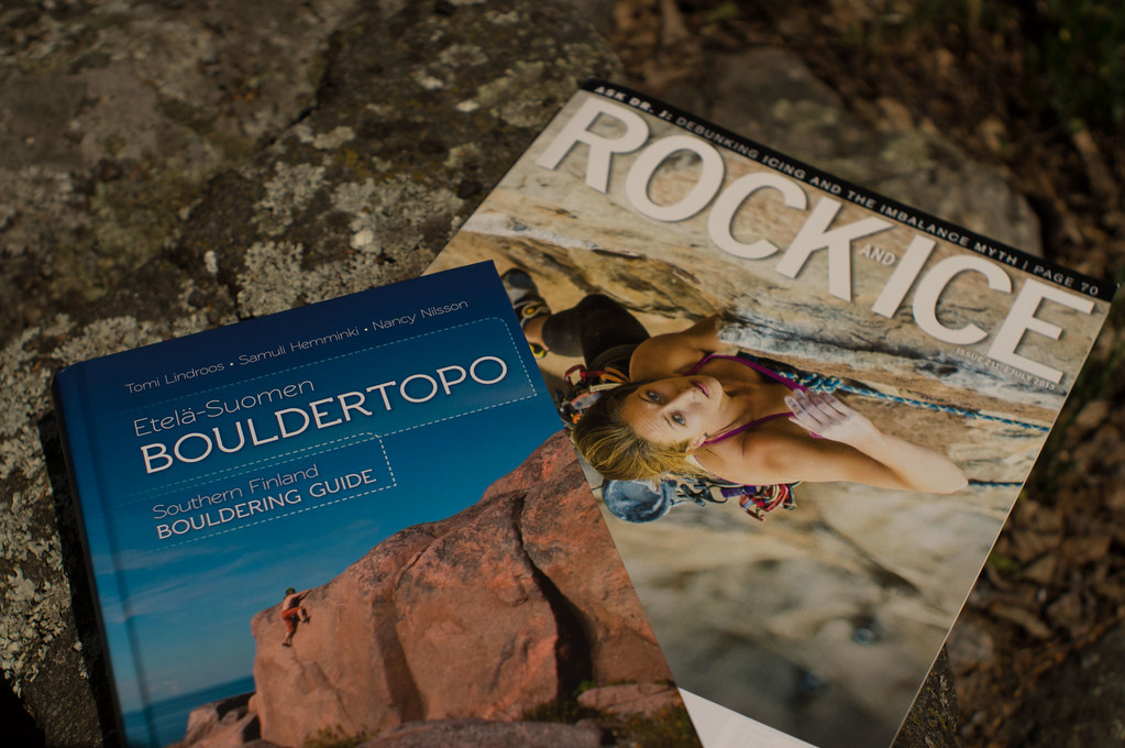 Southern Finland Bouldering Guide + Rock & Ice