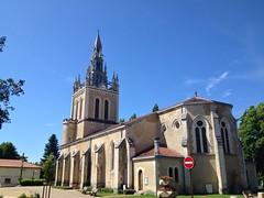 Kirche in Lit et Mix Frankreich