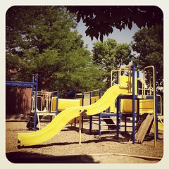 #camp playground pic of the day - slide!