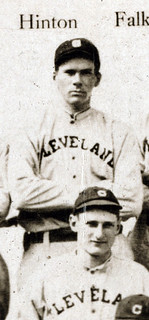 Hinton with Cleveland in 1913.