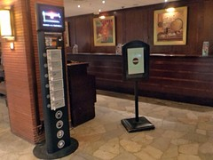 Chargebox im Hotel (Frankreich)