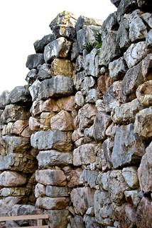 Tyrins, Cyclopean Walls