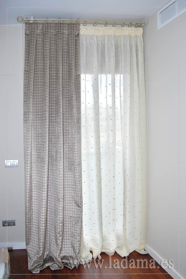 Fotograf as de dormitorios cl sicos la dama decoraci n - Cortinas dormitorio ikea ...