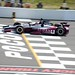 James Jakes crosses the Start-Finish line during the open test at Pocono Raceway
