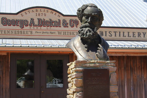 George Dickel Distillery & Bust - Cascade Hollow, TN