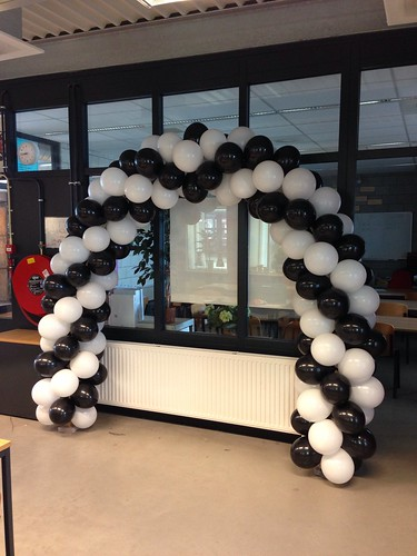 Ballonboog 6m Examenfeest Edu College Barendrecht