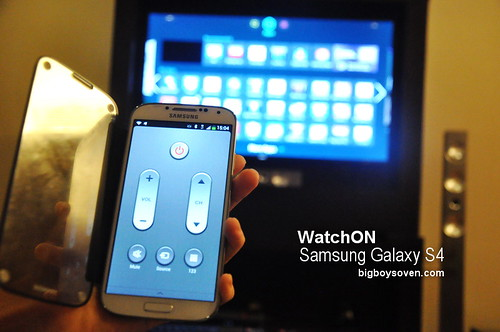 Samsung Galaxy S4 WatchON 4