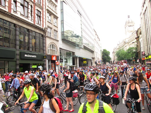 Space 4 Cycling Protest Ride 16th July 2013