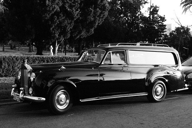 hollywood forever hearse