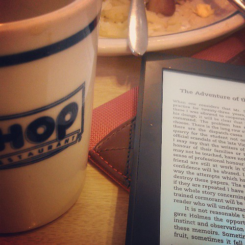 More Sherlock Holmes over breakfast