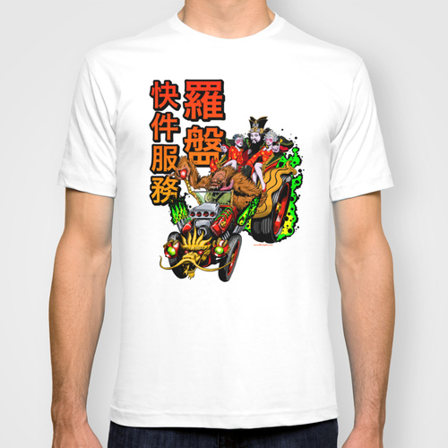 Lo Pan Express Tee V2 by Manly Art