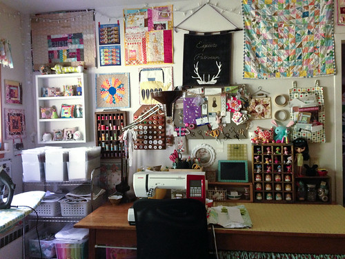 Clean Sewing Room by Jeni Baker