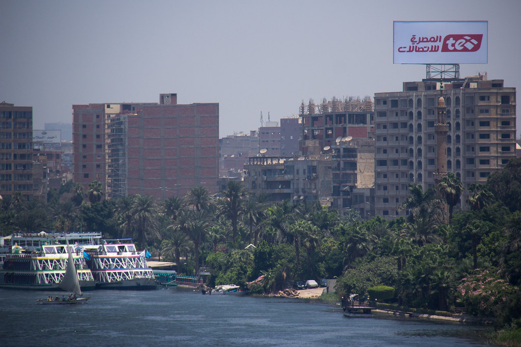 The Nile is a River in Egypt