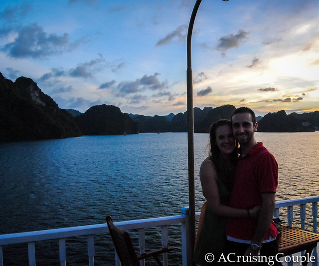 A Cruising Couple in Halong Bay