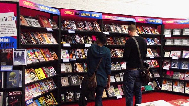graphic novels at the Edinburgh book festival 02