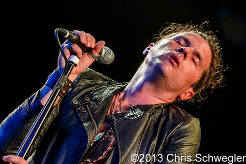 Rival Sons – 08-26-13 – Four Decades of Rock Tour, DTE Energy Music Theatre, Clarkston, MI