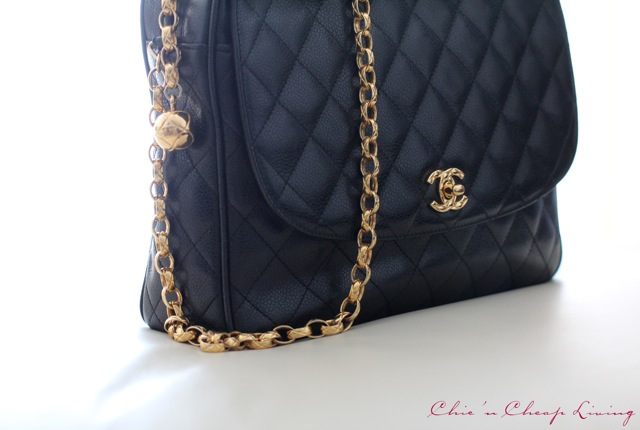 Chanel vintage camera bg side by Chic n Cheap Living