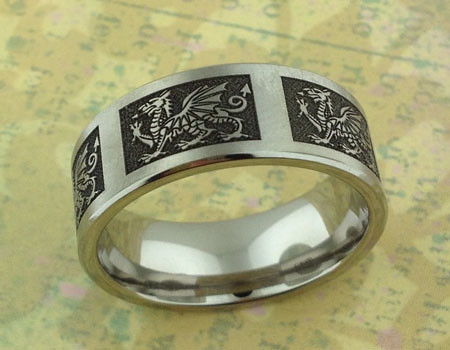 Celtic and Welsh Gold Wedding Rings  Handcrafted in our
