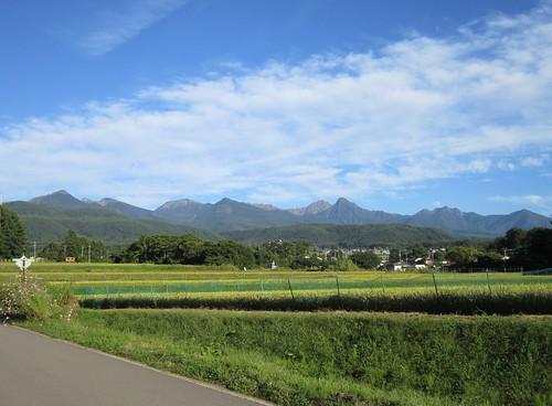 台風一過の八ヶ岳連峰 2013年9月17日16:26 by Poran111