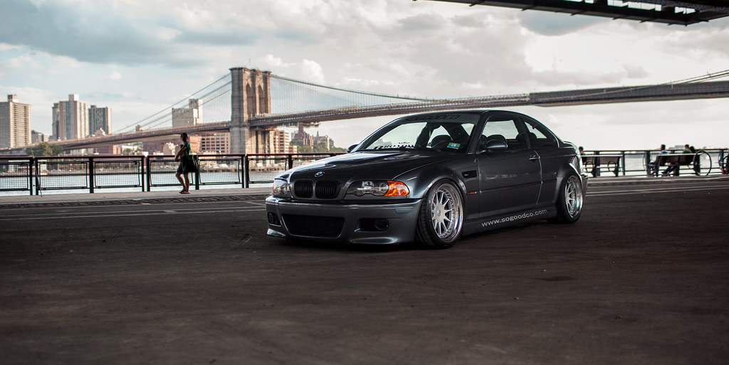 A Bmw E46 M3 And New York City Transportation In