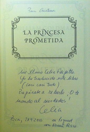 Libro dedicado