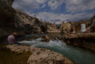 Waterfall at Sautadet