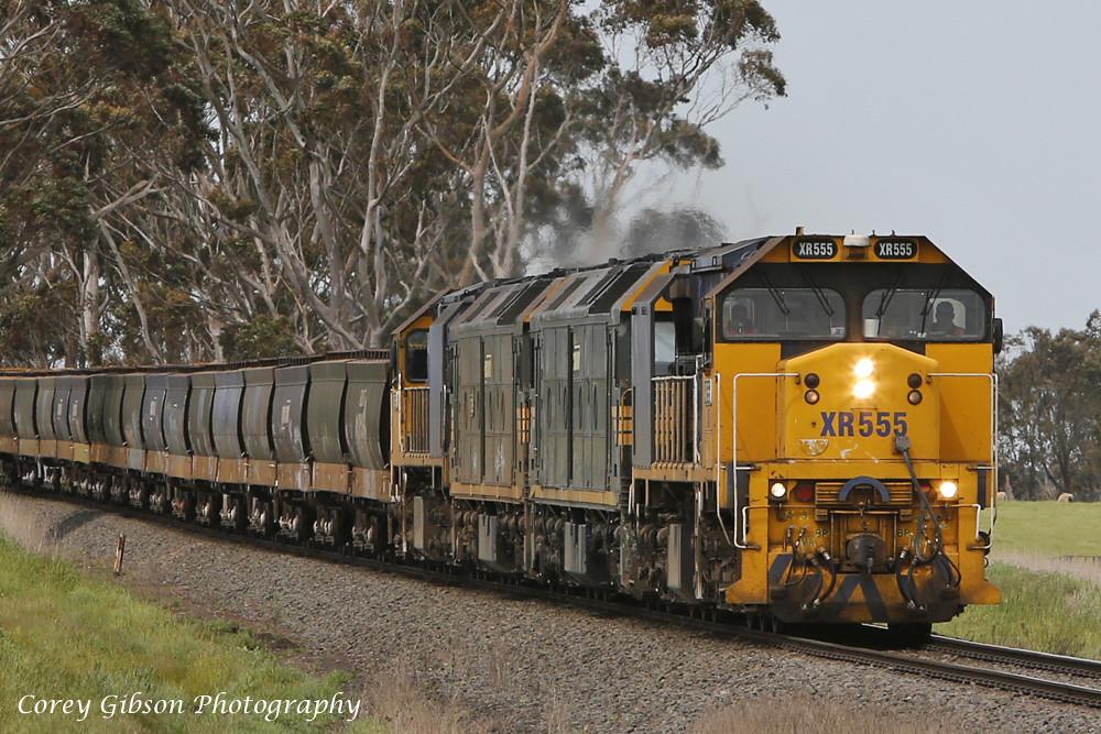 XR555, G526, G528 & XR558 swing by Derrinallum by Corey Gibson