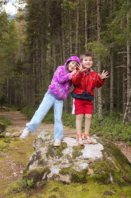 Family Hike at Chilliwack Lake