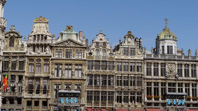 Bruxelles grand place maison des corporations flickr for Assurance gens de maison belgique