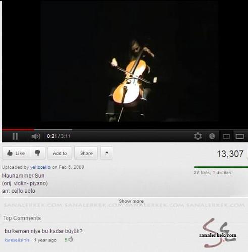 komik youtube yorumları