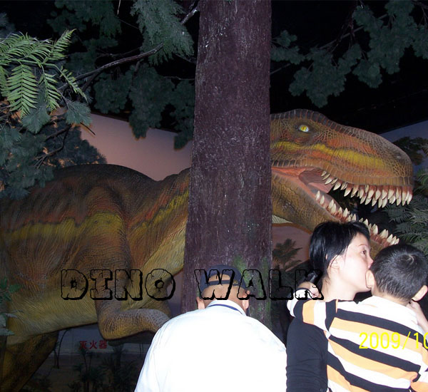 Interactive Dinosaur Attraction