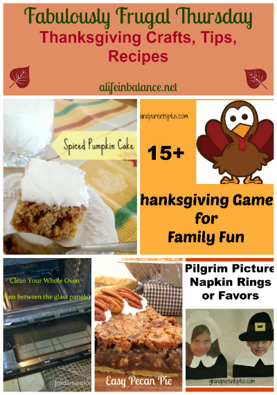 Thanksgiving Crafts, Tips, and Recipes
