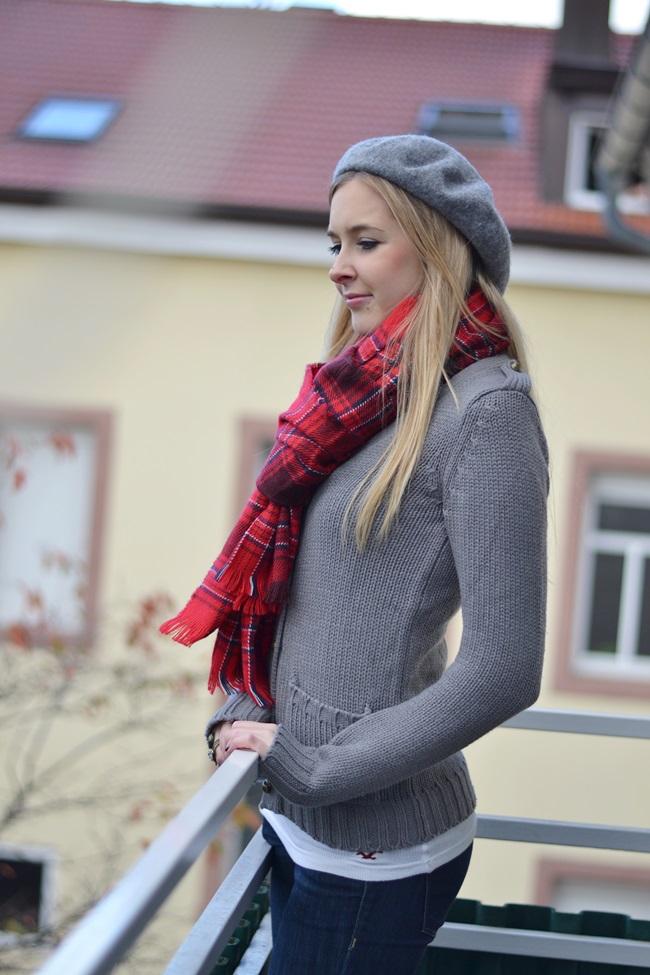 Outfit Schal H&M Tartan (4)
