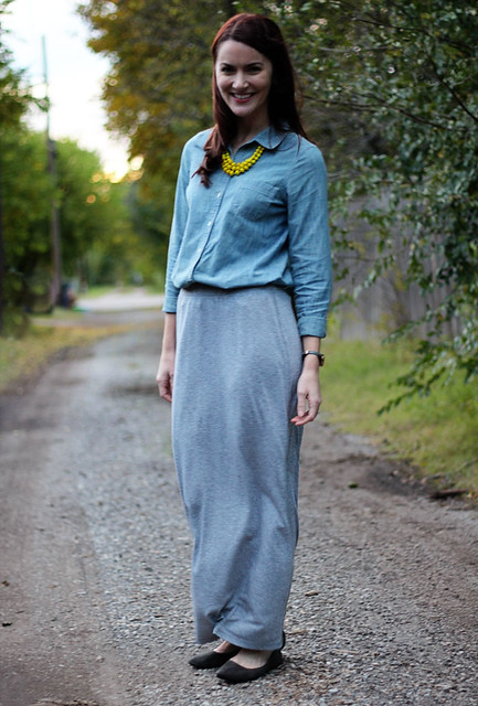 gray-maxi-and-chambray-1