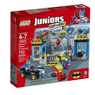 LEGO DC Super Heroes Juniors Line 10672 - Defend the Batcave