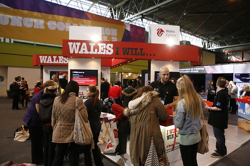 The Welsh stand at The Skills Show