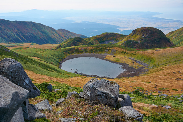 Lake Chokai(鳥海湖),Mt.Chokai