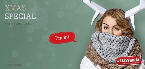 Promociones de Navidad - DaWanda Xmas Special