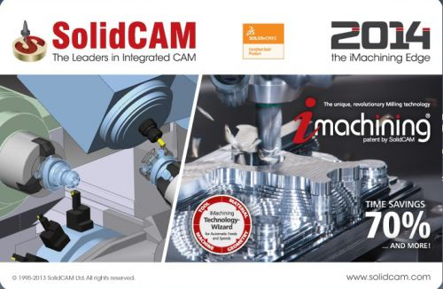 SolidCAM 2014 SP0 Multilanguage [x86/x64] Full DVD