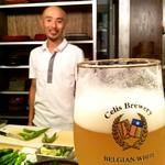 ベルギービール大好き!! セリス・ホワイト Celis White @エンボカ京都