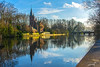 The Lake of Love in Minnewaterpark, Bruges