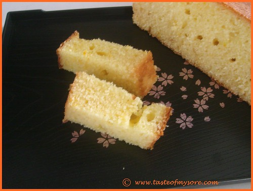 Orange Yogurt Muffin Cake