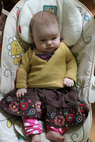 Yellow Baby Kimono