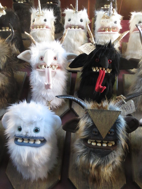 Christmas Krampus Plush Toys