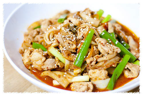 Stir Fried Kimchi with Pork