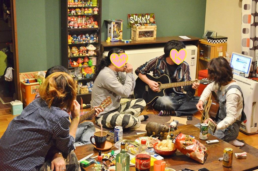 Gさん誕生日サニー家ギター教室。 (10)-1