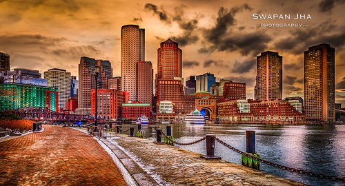 longexposure bridge sunset usa building boston skyline skyscraper boat downtown cloudy dusk massachusetts newengland hdr lightroom bostonskyline cs6 leefilters nikfilter canon5dmarkiii cswapanjha