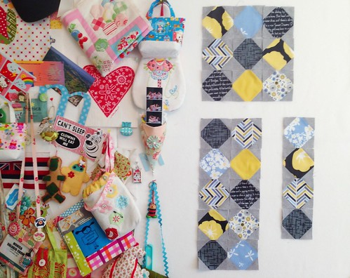 Snowballs for the Quilty Fun Sew Along
